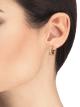 """""""B.zero1 Rock"""" Ohrringe aus 18 Karat Gelbgold mit Spirale mit Nieten und Diamant-Pavé an den Rändern. 357918 image 3"""