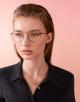 Óculos de grau B.zero1 B.glassy com formato arredondado em metal. 903758 image 3