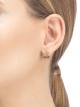 Brincos B.zero1 Design Legend em ouro rosa 18K cravejados com pavê de diamantes (0,08ct) na espiral. 356131 image 3
