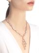 Colar Serpenti em ouro rosa 18K cravejado com pavê de diamantes (8,66ct) na corrente e no pingente 356194 image 4