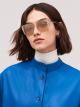 Bulgari B.zero1 B.purebright metal squared sunglasses. 903948 image 3