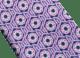 Pink Logo Neon Octo pattern seven-folds tie in fine saglione printed silk. 243610 image 2